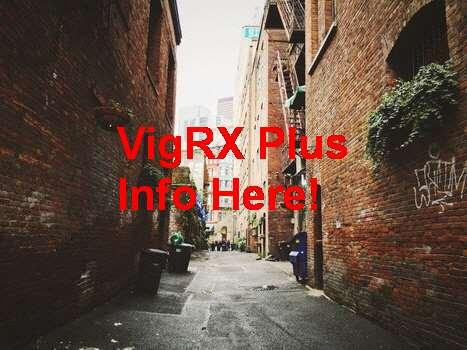 VigRX Plus Contre Indication